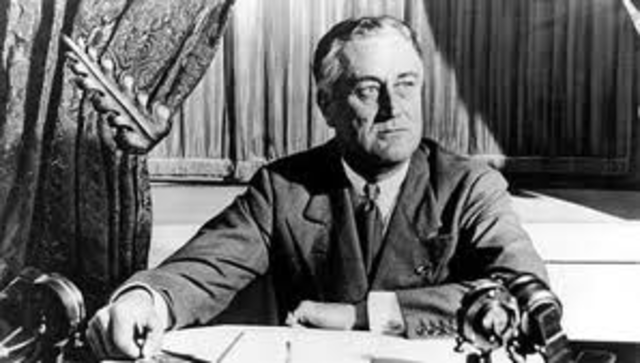 Franklin D. Roosevelt elected to third term as president of the U.S.