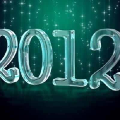 2012 in Review timeline