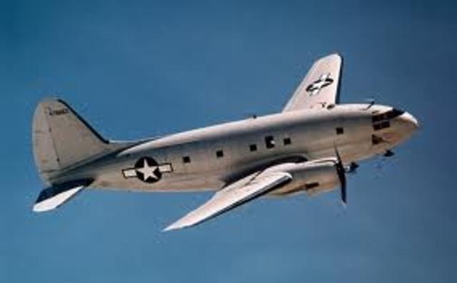 Curtiss C46 Commando