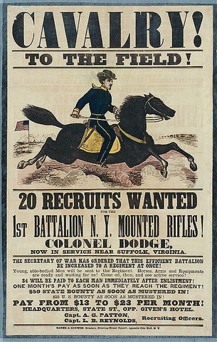 Enlisted Into the Union Army