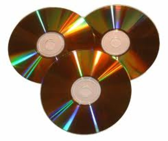The commercial sale of the new standard CD was introduced.