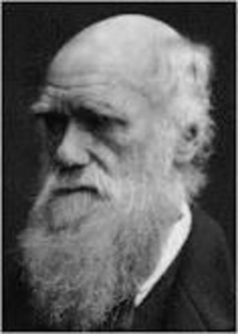 Charles Darwin's Book on Evolution