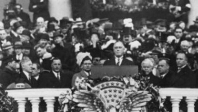 Franklin D. Roosevelt...