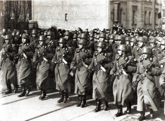 Jews are prohibited from serving in the German armed forces.
