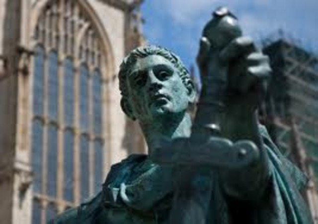 Constantine Converts to Christianity