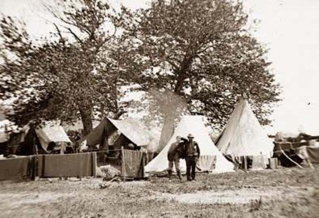 Camp Lincolc Keokuk, Iowa