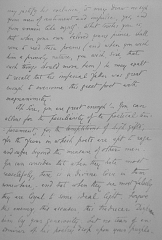 Leter to his wife on December 30 1861