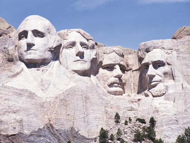 Mount Rushmore is completed
