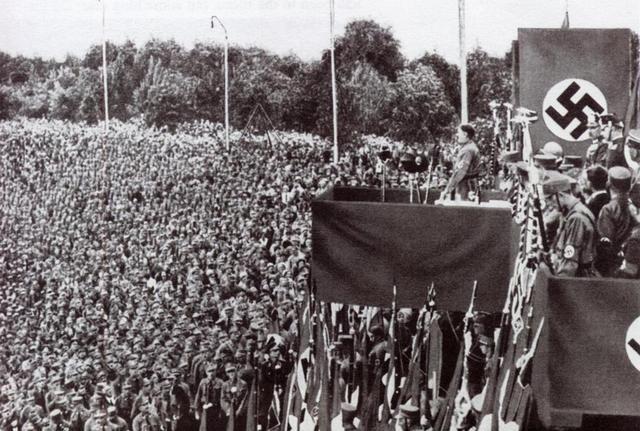 Hitler Violates Versailes Treaty