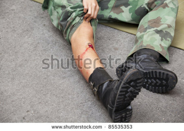 Isaac wounded