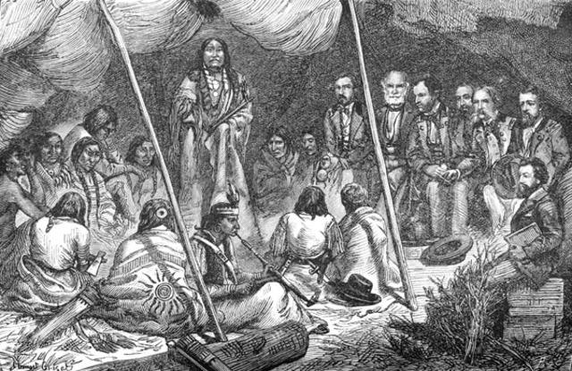 Siuox uprising put down in Minnesota