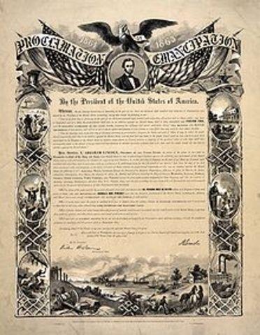 The Emancipation Proclaimation