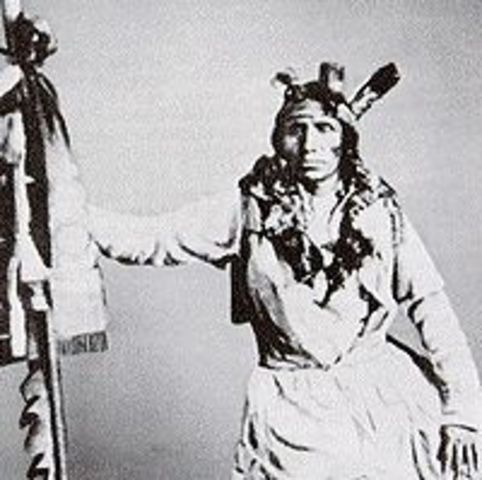 Sioux Uprising Put Down In Minnesota