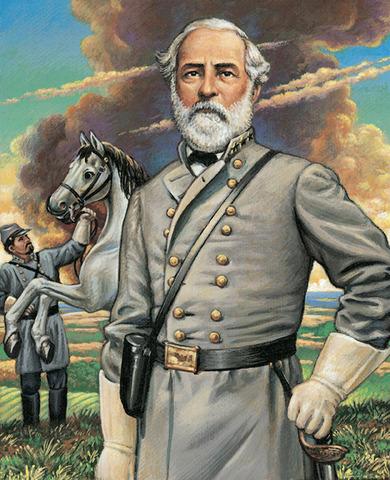 Robert E. Lee turns down Union command