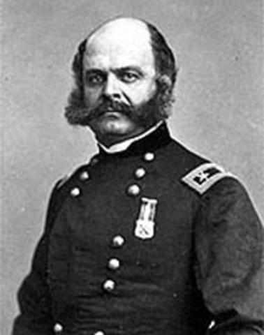 Union disaster at Fredericksburg; Burnside replaced
