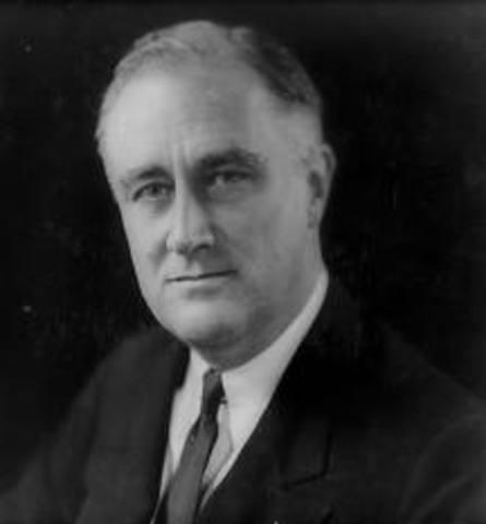 Franklin D. Roosevelt inauguration