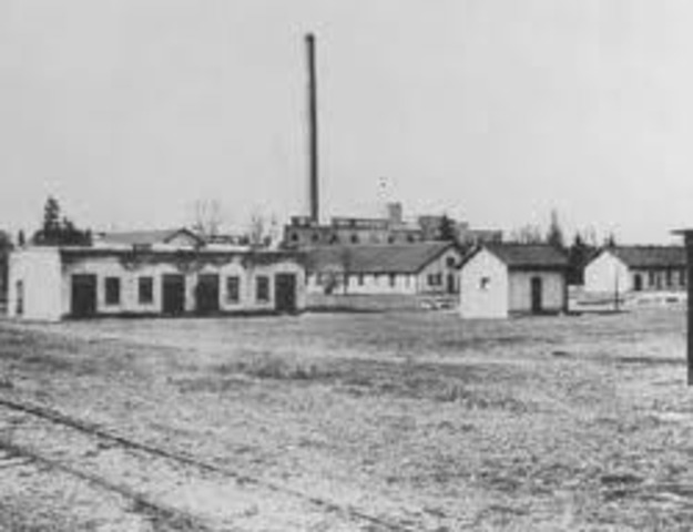 The first concentration camp is established in Nazi Germany