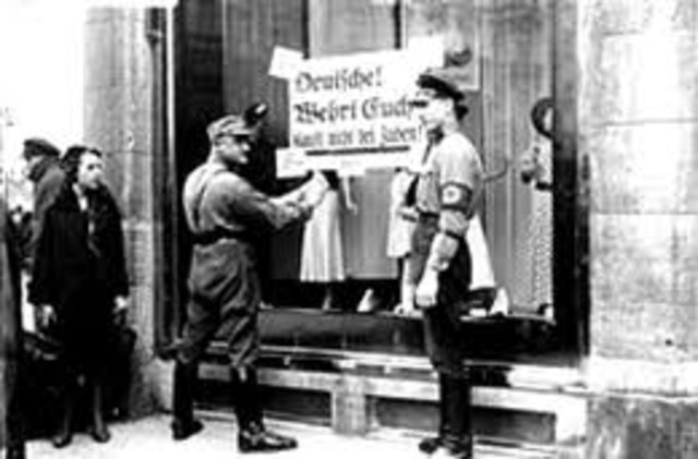 Jews are barred from government service.