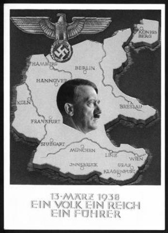 Germany annexes Austria.