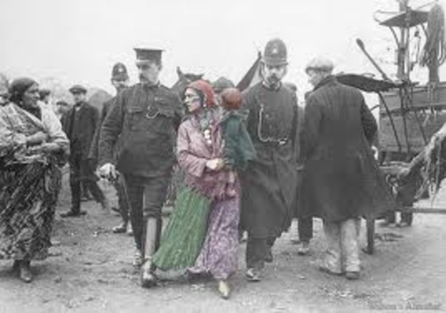 The first German Gypsies are arrested and deported to Dachau concentration camp