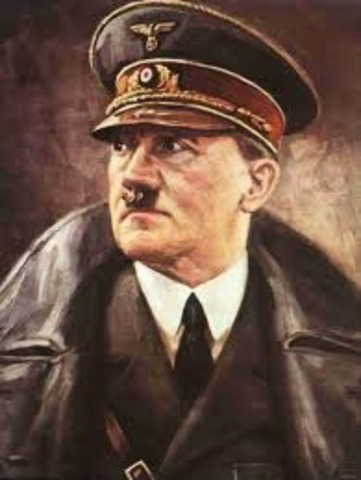 Hitlers proclaims himself lleader of the third reich