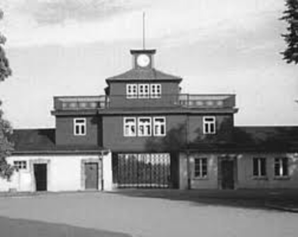 Buchenwald concentration camp opens
