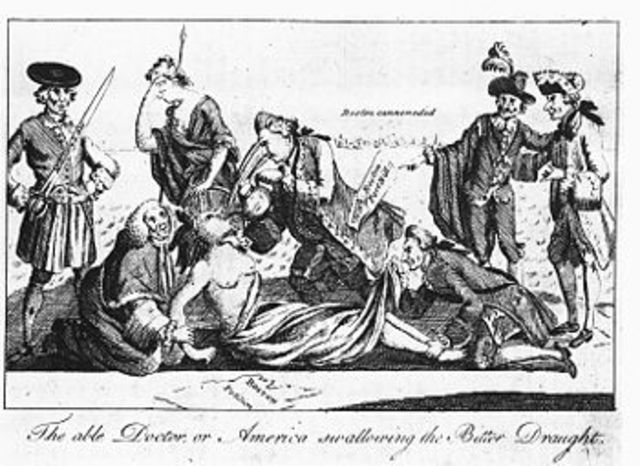 Coercive Acts ( Intolerable Acts.)