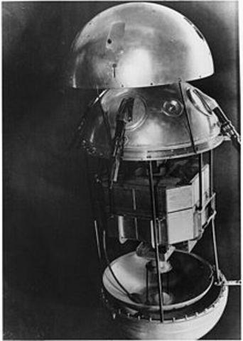 1º Satélçite espacial
