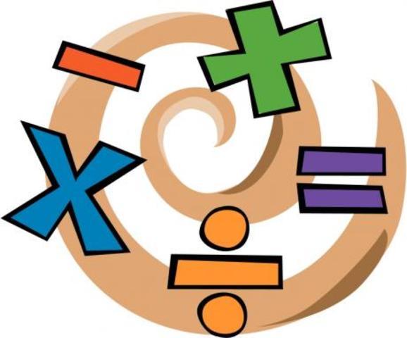 dispositivo mecánico para las operaciones aritméticas básicas