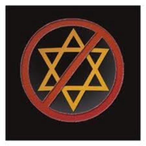 """No Jews"" sign."