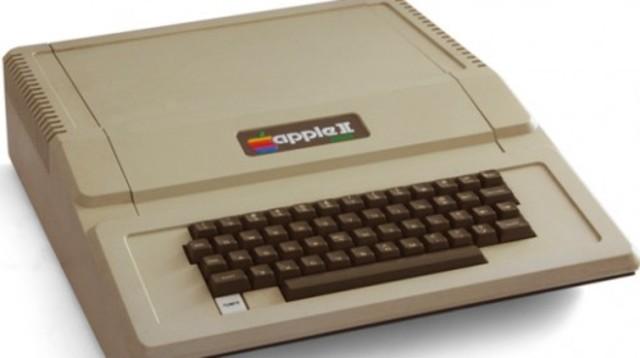 1979 – Apple II Plus.