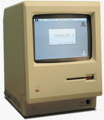 1984 – Macintosh 128K.