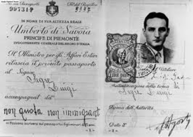 Jews can obtain passports for travel outside of Germany only in special cases.