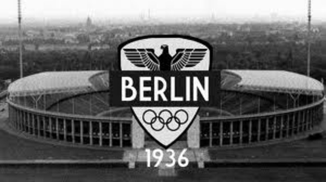 August 1-16 Olympic takes place in Berlin.
