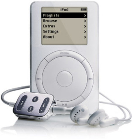 2001 – iPod.
