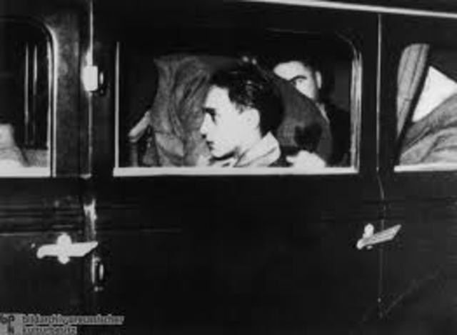 Attempt to assassinate German diplomat in Paris.