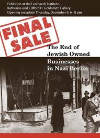 Jews sell their businnesses