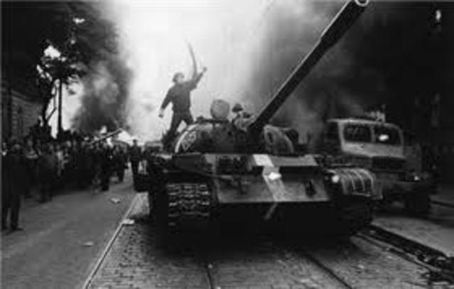 Germany invades Czechoslovakia.