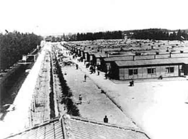 Concentration camp established