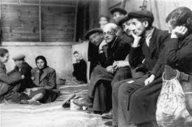 Approximately 164,000 Polish Jews are concentrated and imprisoned in the Lódz ghetto which is established and sealed off from the outside world