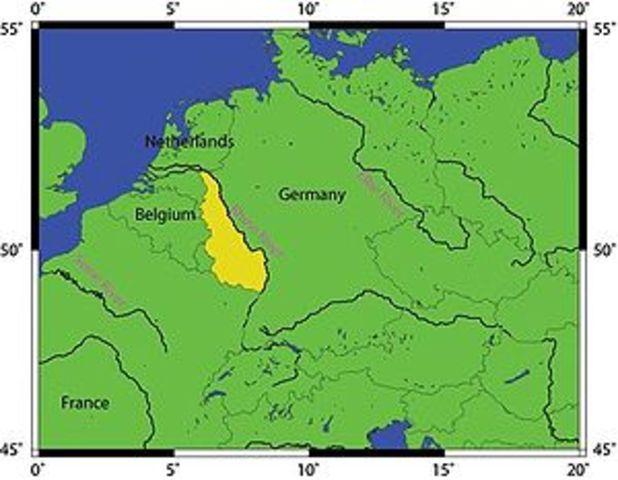 Hitler invades the Rhinleand