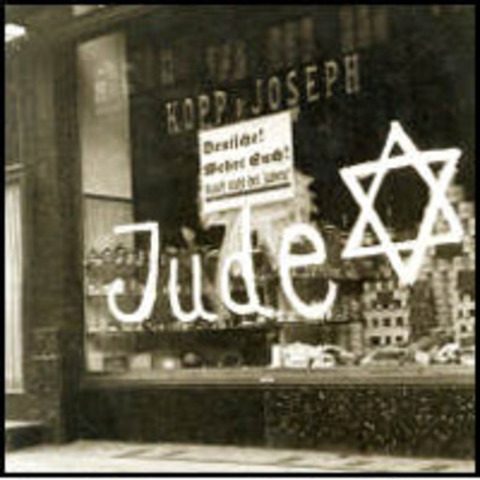 A nationwide boycott of Jewish -owned businesses in Germany is carried out under Nazi leadership.