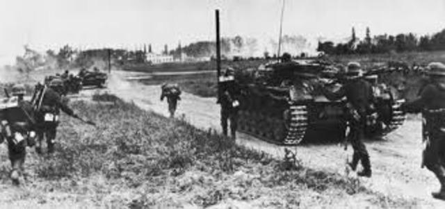 Germany begins WW2