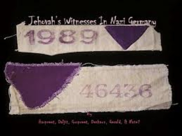 Jehovah's Witnesses are banned from all civil service jobs and are arrested throughout Germany.