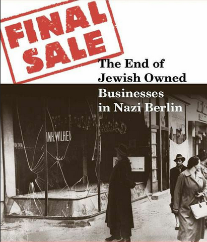 Jews must sell their businesses and real estate and hand over their securities and jewelry to the government at artificially low prices.