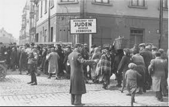 Jews are forced to turn in radios, cameras, and other electric objects to the police. Jews receive more restrictive ration coupons than other Germans. They do not receive coupons for meat, milk, etc. Jews also receive fewer and more limited clothing ratio