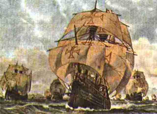 Conquista do território pelos portuguêses