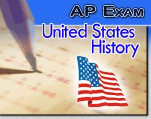 Take very first AP exam.