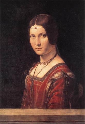 Portrait of a Woman (La belle Ferronière)