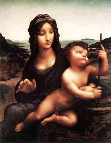 Madonna with the Yarnwinder